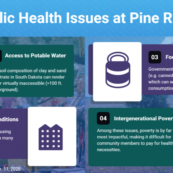 Having conversations about health: Public health disparities on the Pine Ridge Native reservation